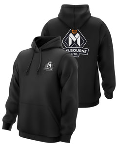 Melbourne United 20/21 Club Hoodie Black