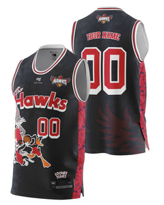 Illawarra Hawks 20/21 Looney Tunes Fan Jersey - Personalised