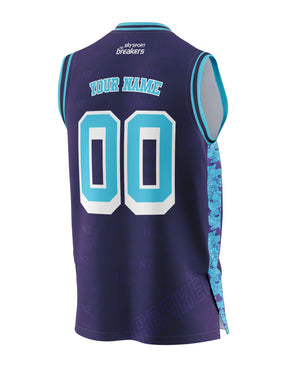 New Zealand Breakers 20/21 Looney Tunes Fan Jersey - Personalised