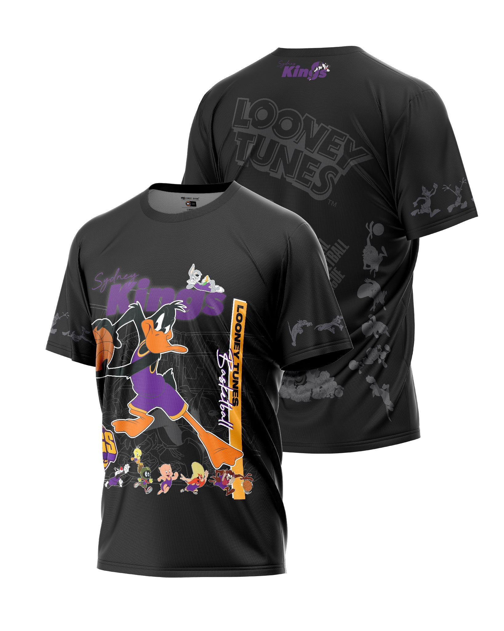 Sydney Kings 20/21 Looney Tunes Mono Tee
