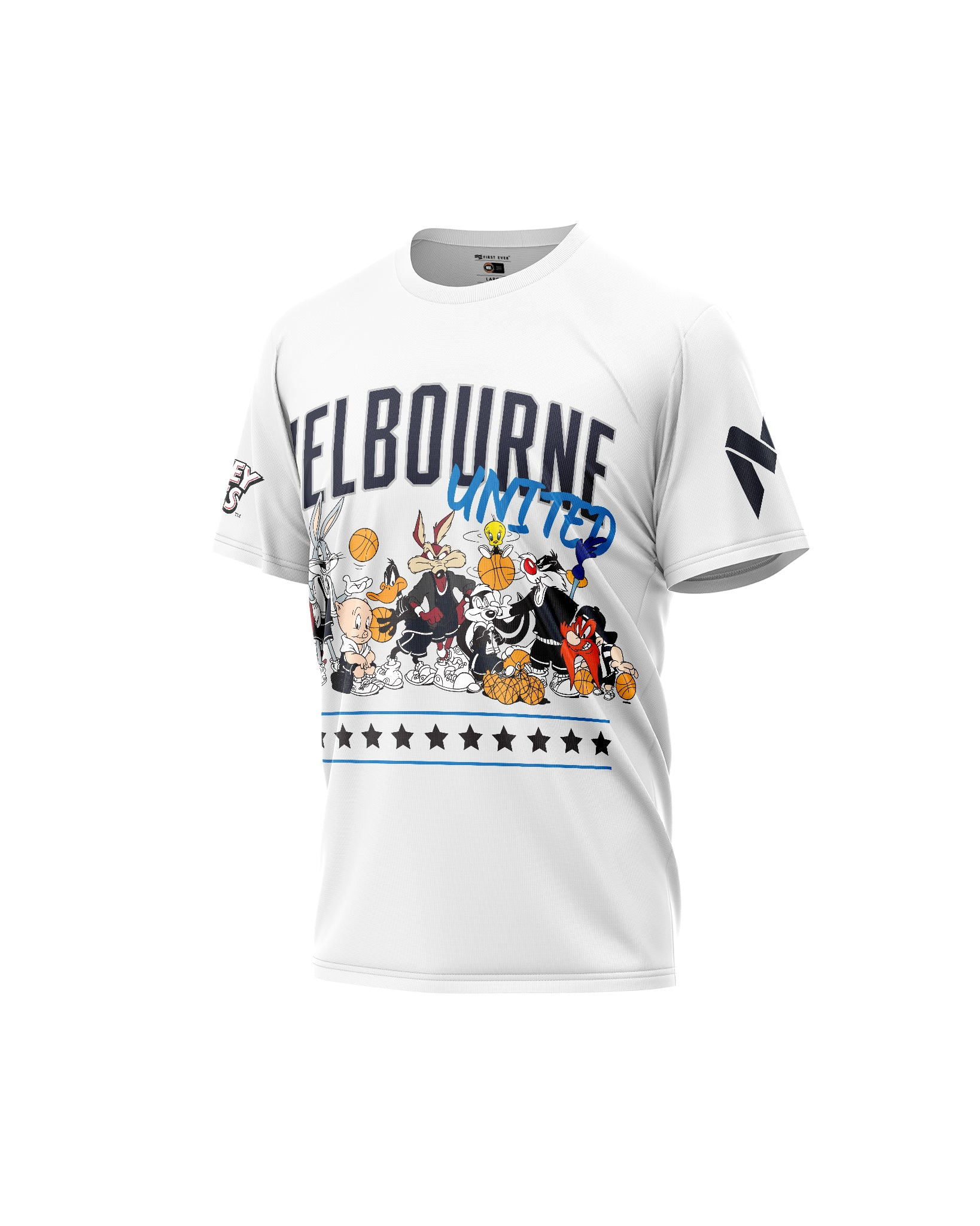 Melbourne United 20/21 Looney Tunes Squad Tee