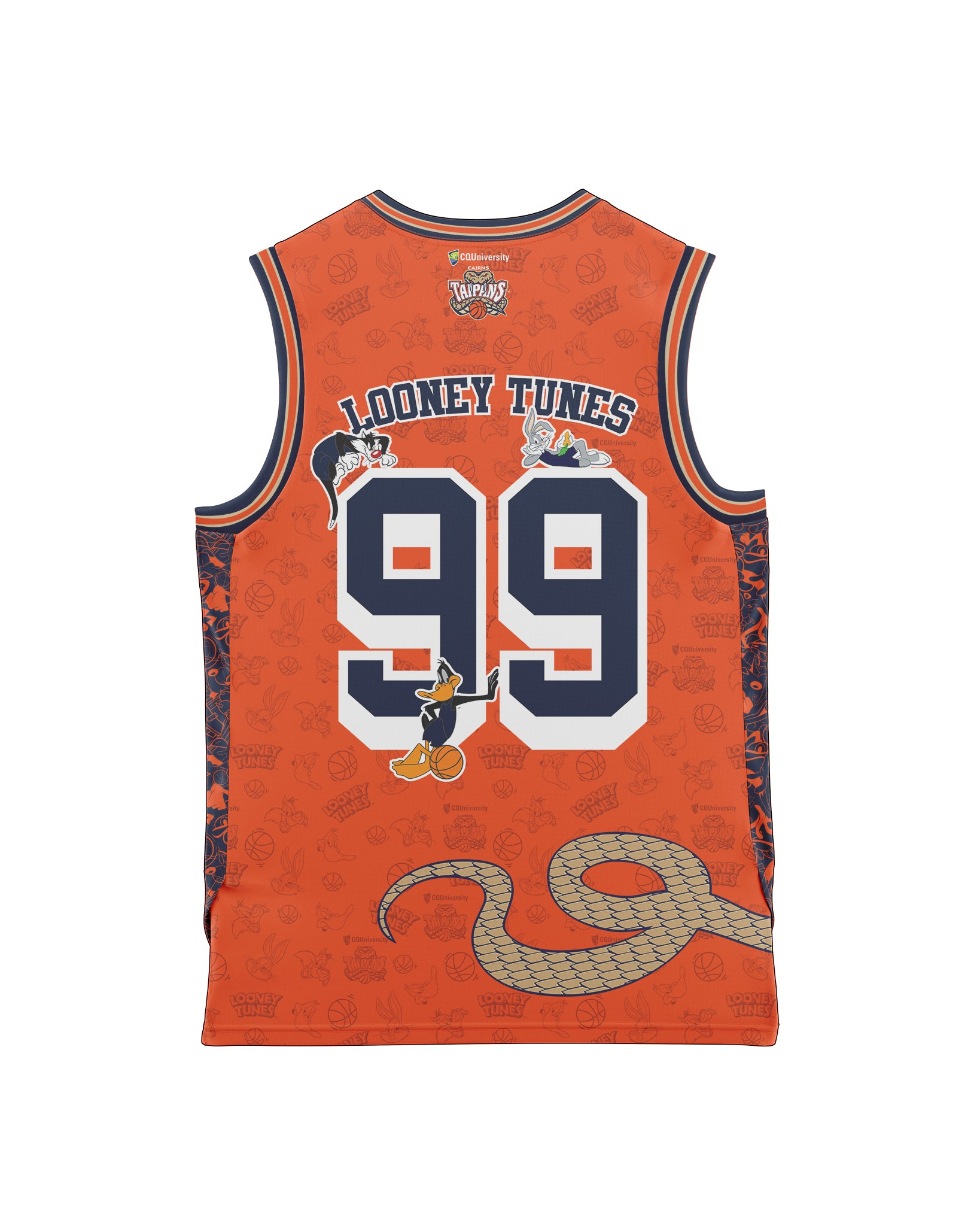 Cairns Taipans 20/21 Looney Tunes Youth Fan Jersey