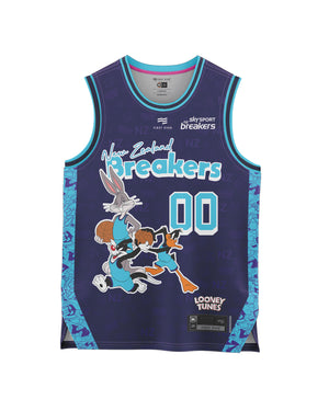 New Zealand Breakers 20/21 Looney Tunes Youth Fan Jersey - Personalised