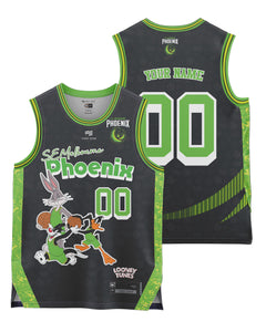 S.E. Melbourne Phoenix 20/21 Looney Tunes Youth Fan Jersey - Personalised