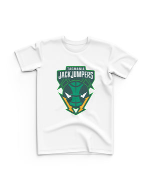 Tasmania JackJumpers Youth Tee - White