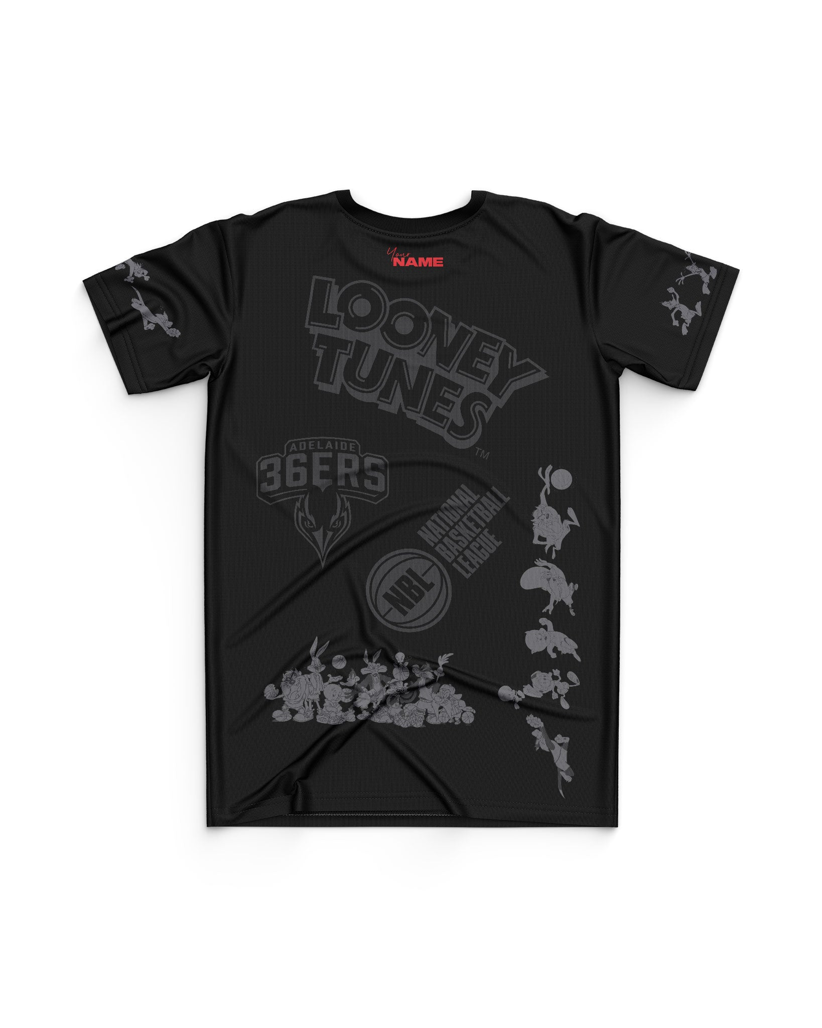 Adelaide 36ers 20/21 Looney Tunes Youth Mono Tee - Personalised