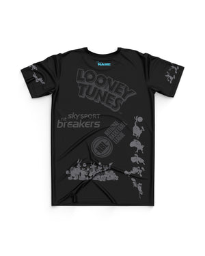 New Zealand Breakers 20/21 Looney Tunes Youth Mono Tee - Personalised