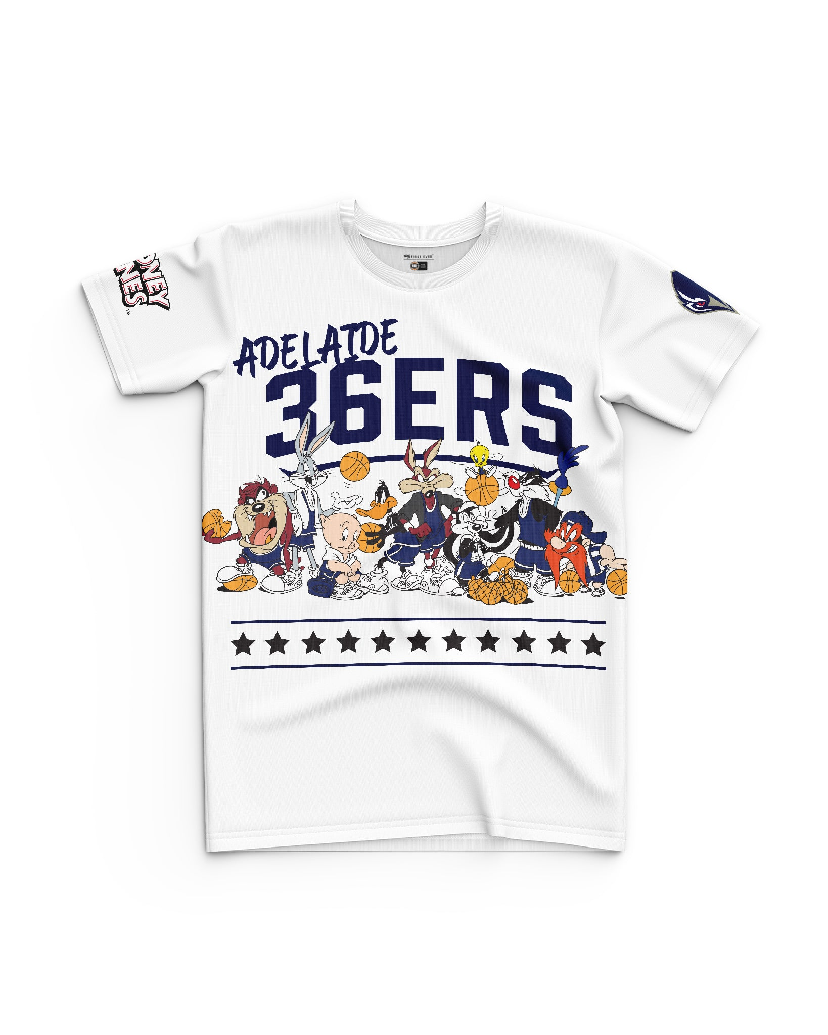 Adelaide 36ers 20/21 Looney Tunes Youth Squad Tee