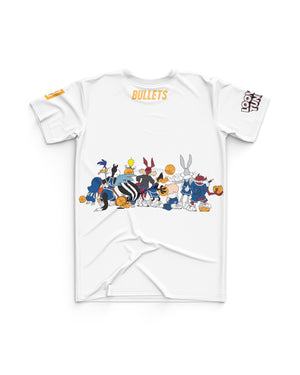 Brisbane Bullets 20/21 Looney Tunes Youth Squad Tee