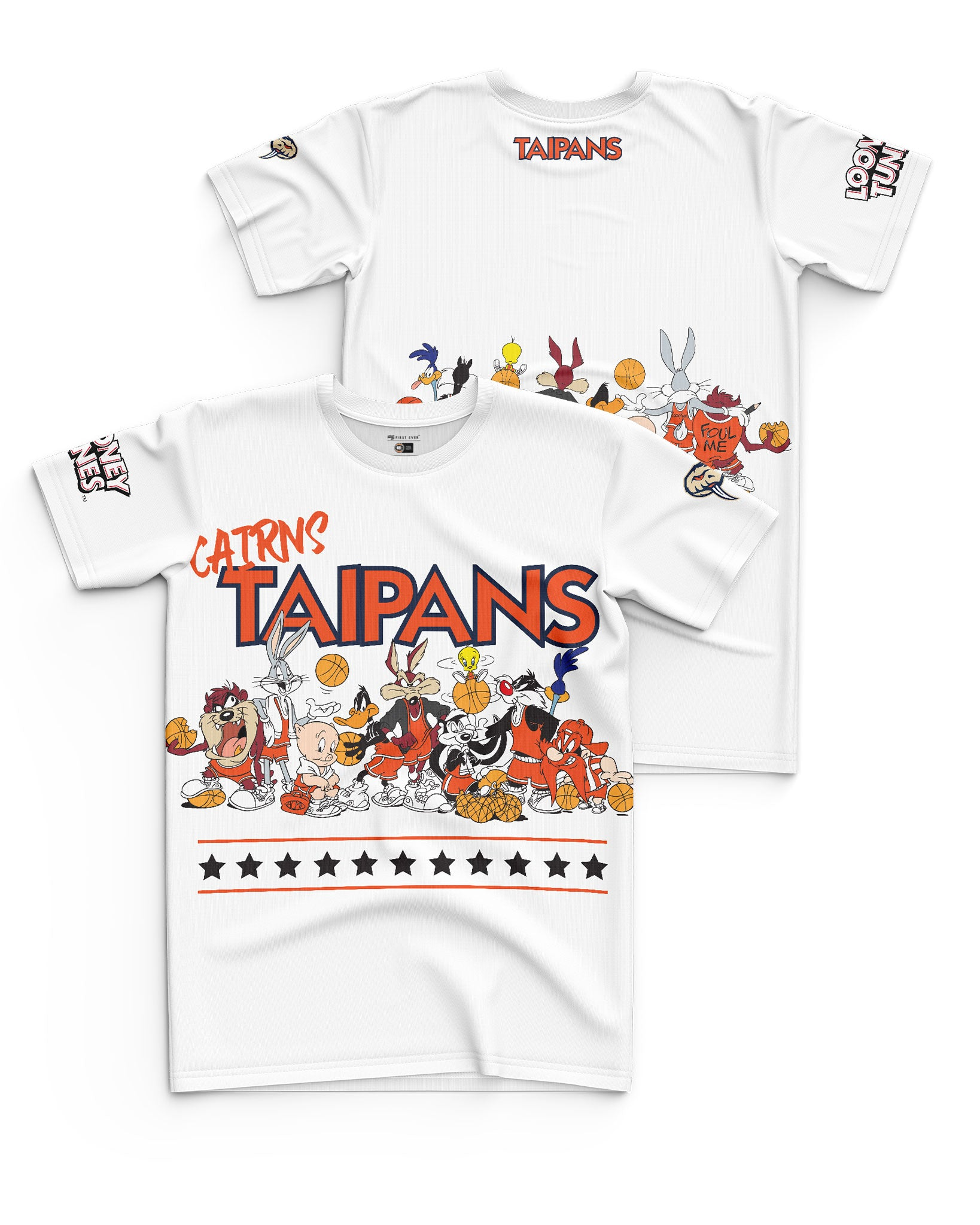 Cairns Taipans 20/21 Looney Tunes Youth Squad Tee