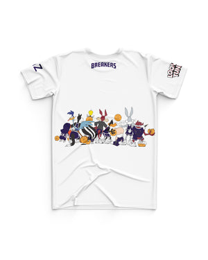 New Zealand Breakers 20/21 Looney Tunes Youth Squad Tee