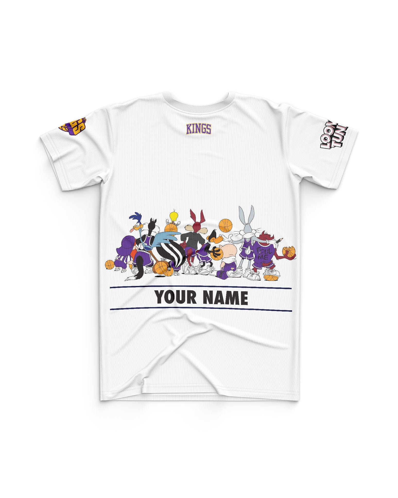 Sydney Kings 20/21 Looney Tunes Youth Squad Tee - Personalised