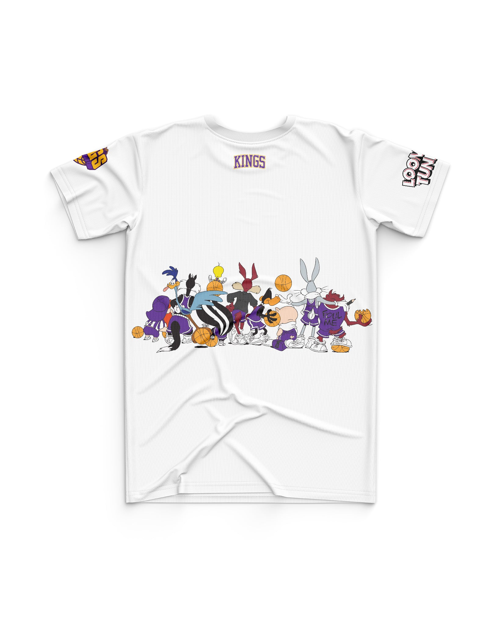 Sydney Kings 20/21 Looney Tunes Youth Squad Tee