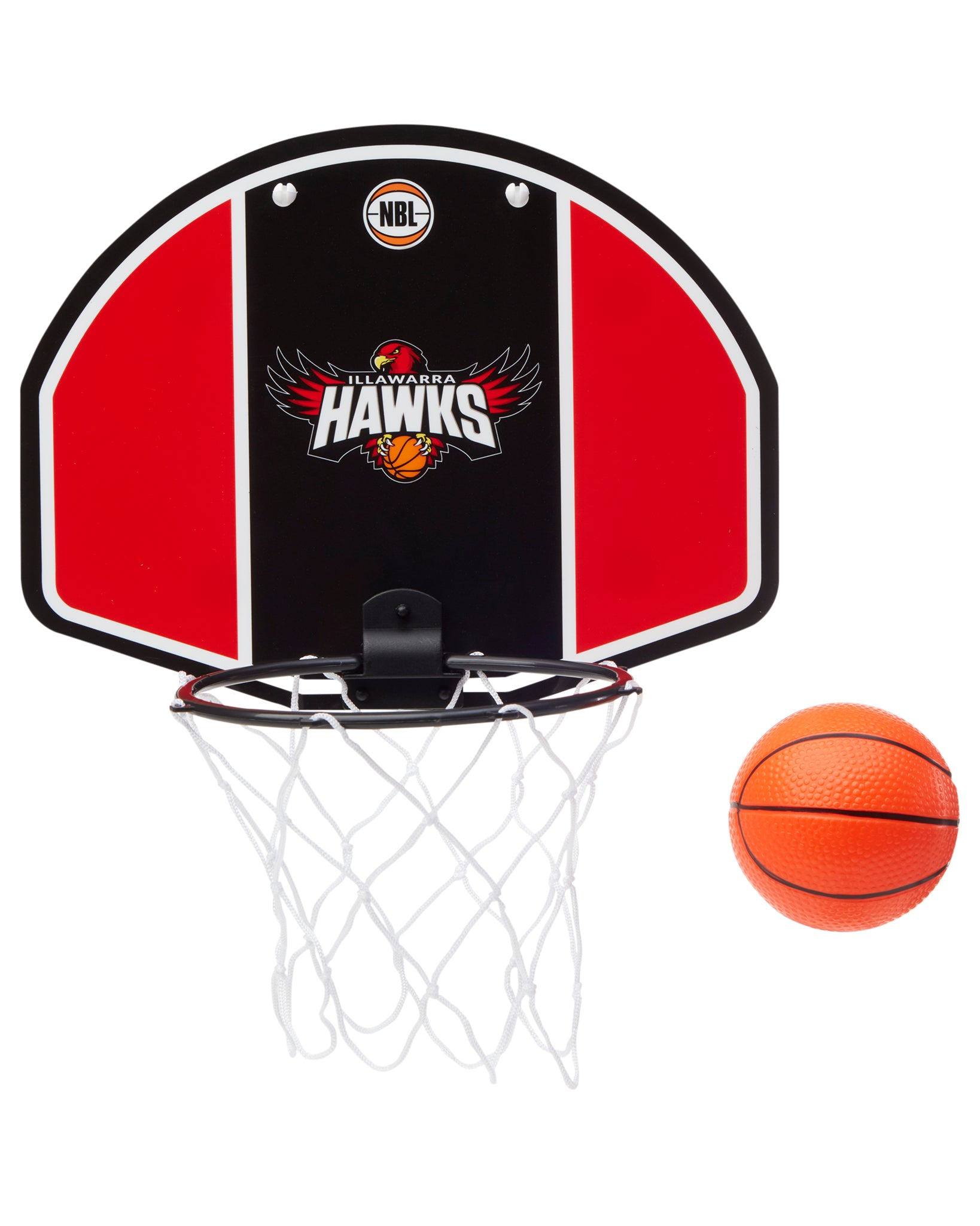Illawarra Hawks 19/20 Official NBL Mini Basketball Backboard