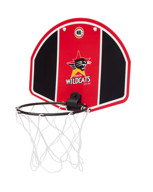Perth Wildcats 19/20 Official NBL Mini Basketball Backboard
