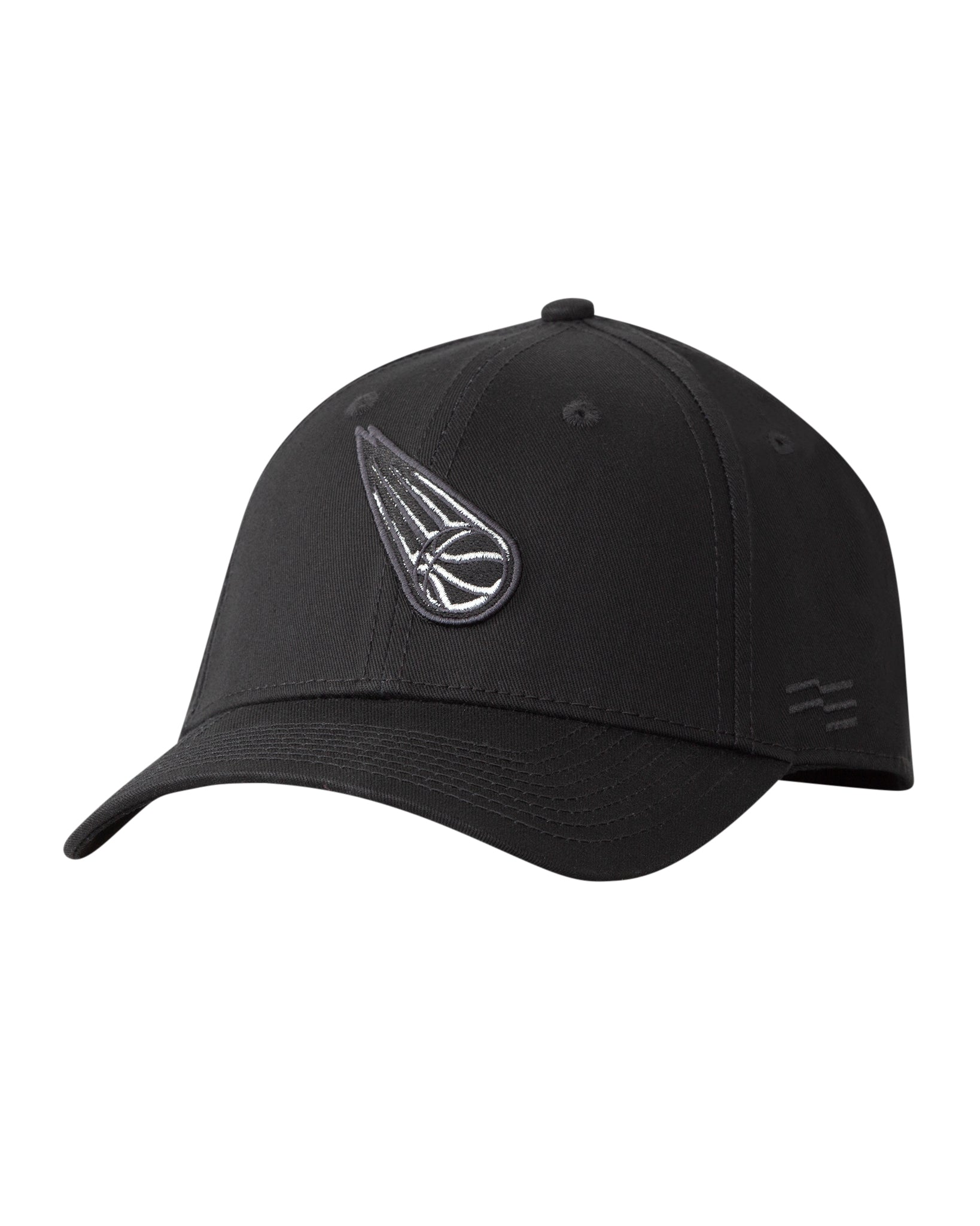Brisbane Bullets Black on Black Premium Curved Peak Cap