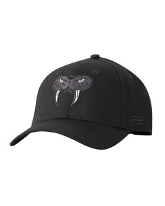 Cairns Taipans Black on Black Premium Curved Peak Cap