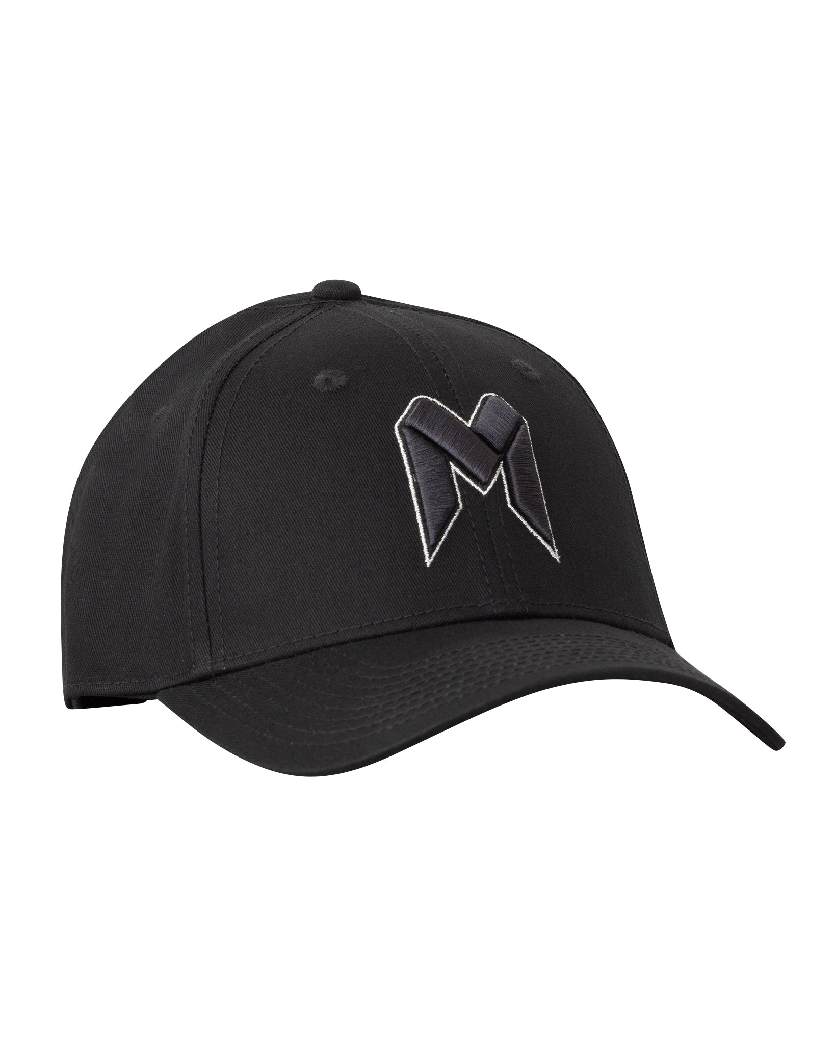 Melbourne United Black on Black Premium Curved Peak Cap