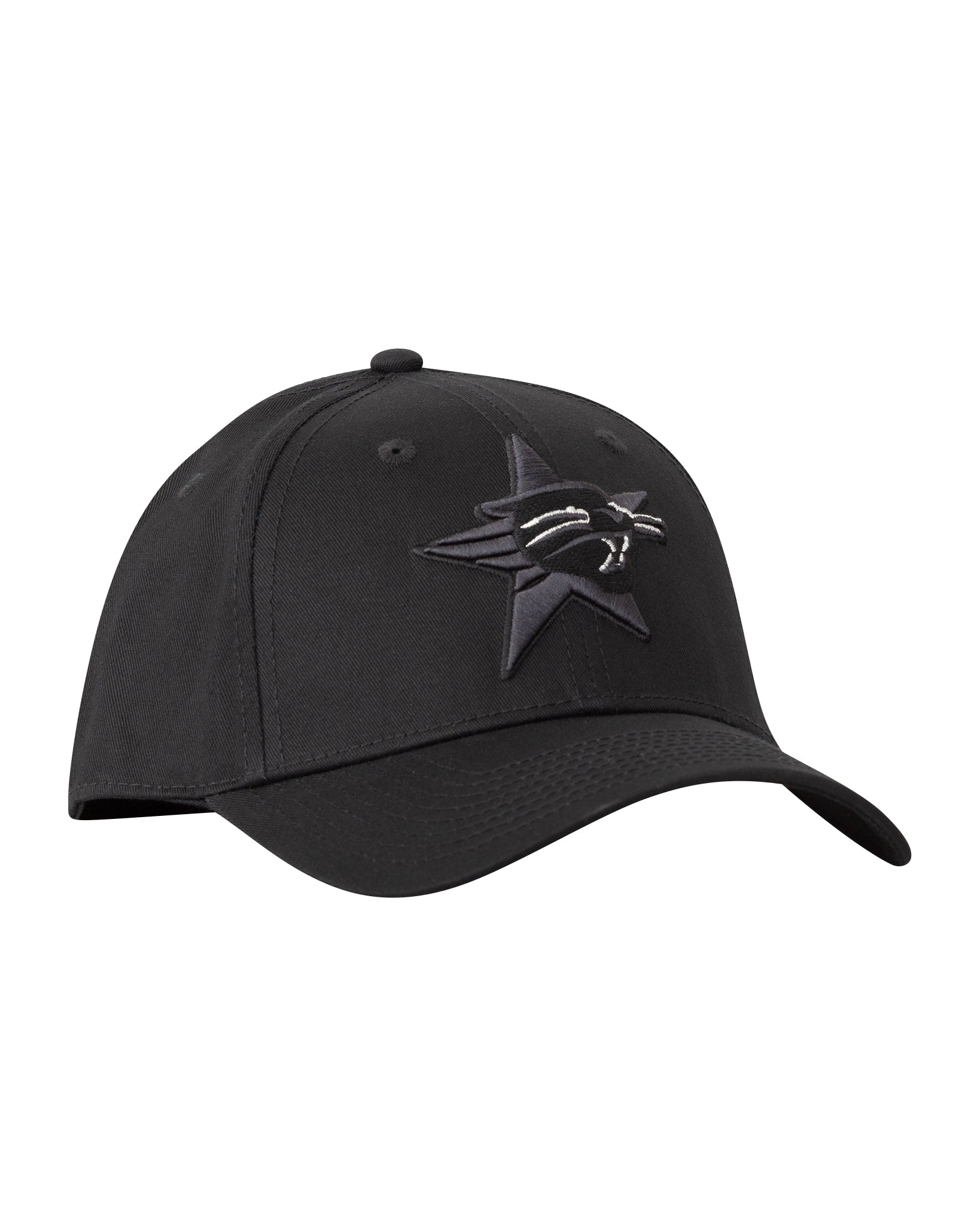 Perth Wildcats Black on Black Premium Curved Peak Cap