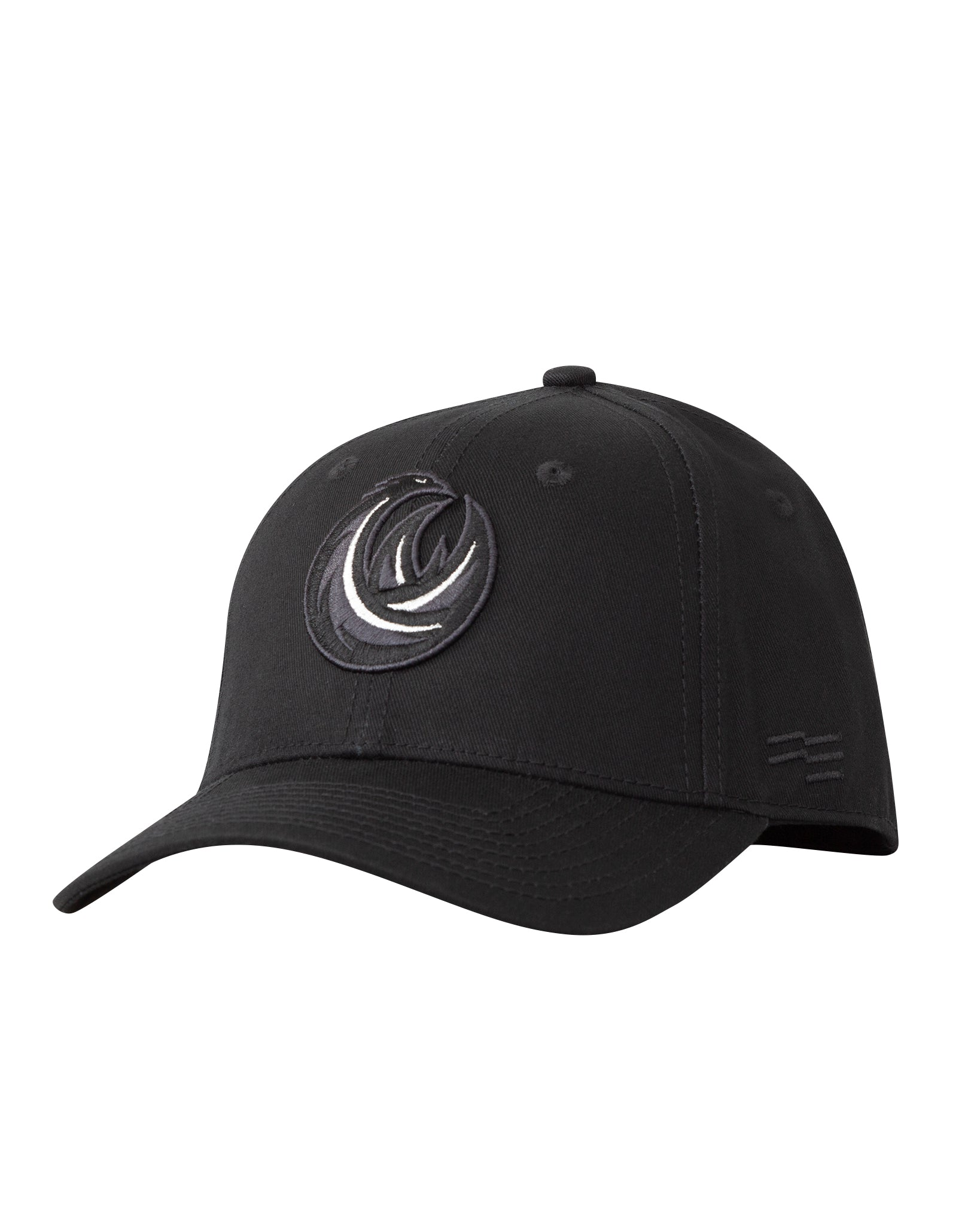 S.E. Melbourne Phoenix Black on Black Premium Curved Peak Cap