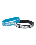 New Zealand Breakers 19/20 Official NBL Silicone Wristband Set
