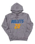 Brisbane Bullets 19/20 Name & Number Hoodie - Nathan Sobey
