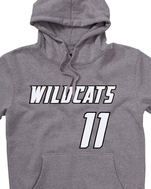 Perth Wildcats 19/20 Name & Number Hoodie - Bryce Cotton