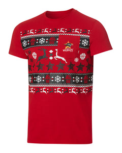 Perth Wildcats 19/20 Make It Reindeer Tee