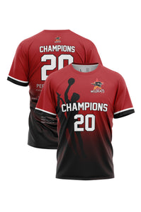 Perth Wildcats 19/20 Champions Shooting Shirt