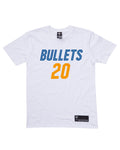 Brisbane Bullets 19/20 Name & Number Tee - Nathan Sobey