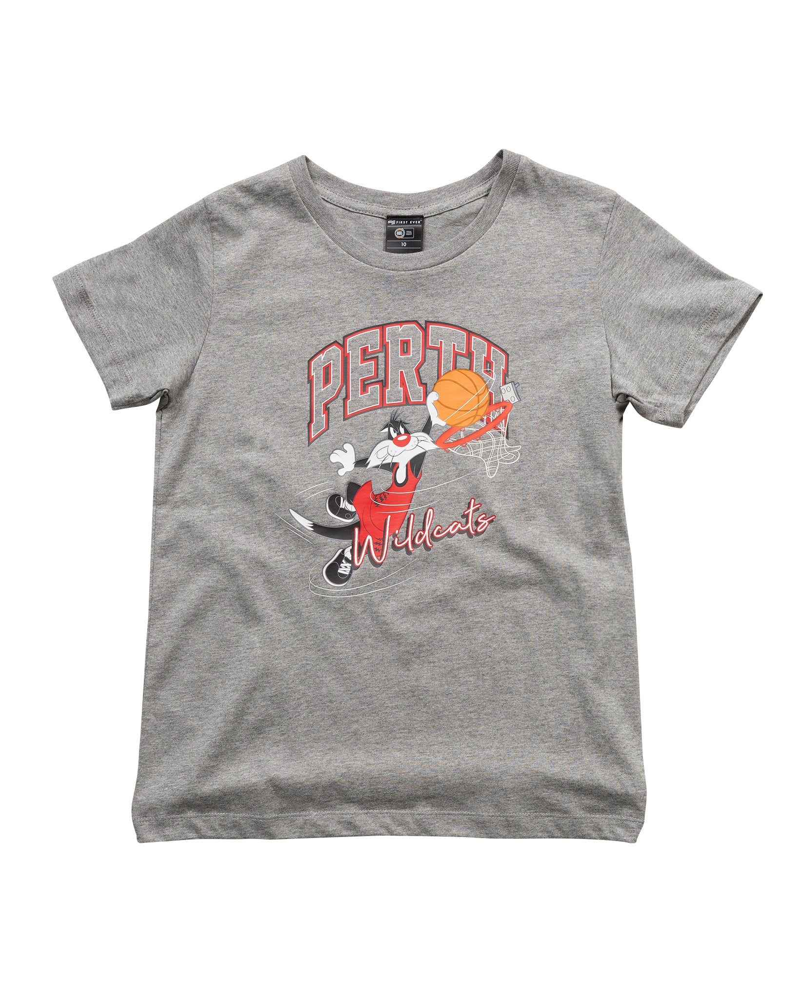 Perth Wildcats 19/20 Sylvester The Cat Youth Tee