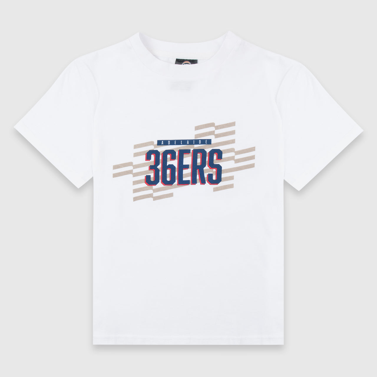 Adelaide 36ers Pattern Wordmark Unisex Youth Tee