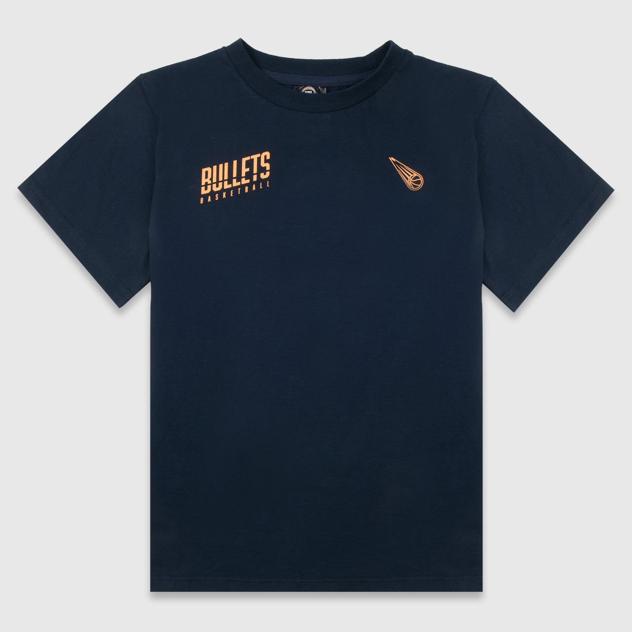 Brisbane Bullets Boys Cut Wordmark Tee