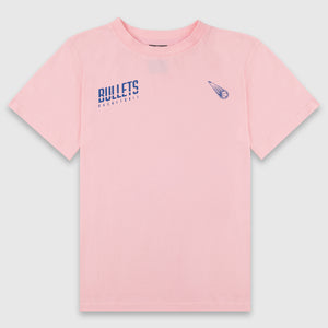Brisbane Bullets Girls Cut Wordmark Tee