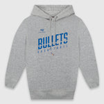 Brisbane Bullets Cut Wordmark Youth Hoodie