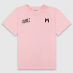 Melbourne United Girls Cut Wordmark Tee