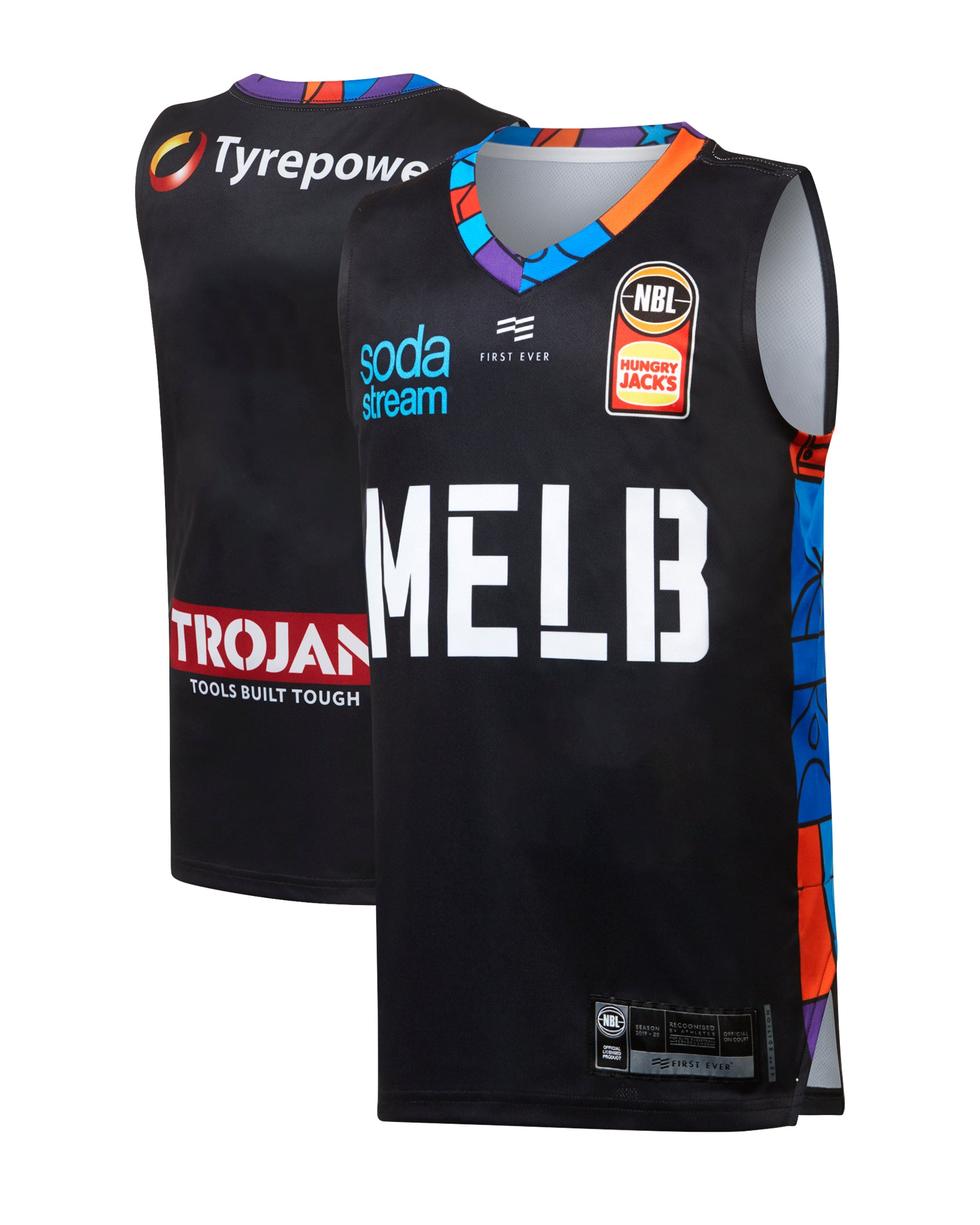 Melbourne United 19/20 Youth Authentic City Jersey