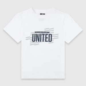 Melbourne United Pattern Wordmark Unisex Youth Tee