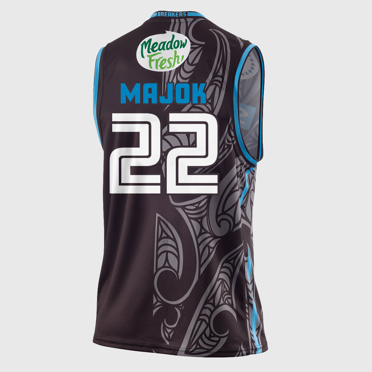 New Zealand Breakers 18/19 Authentic Jersey - Majok Majok