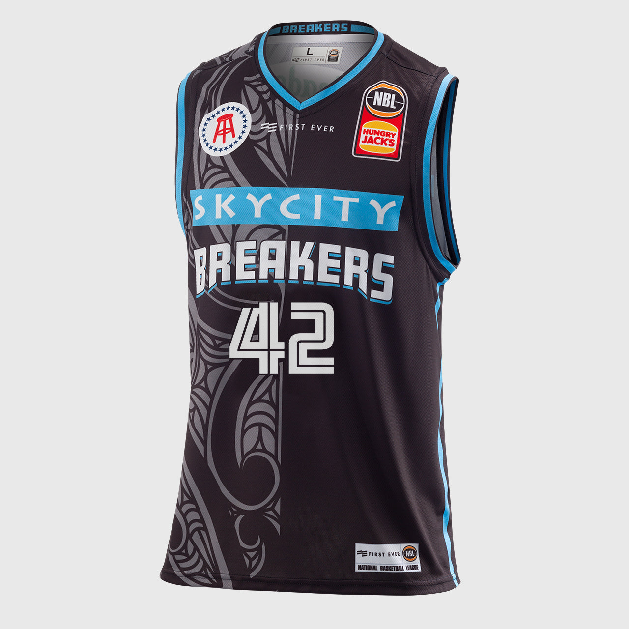 New Zealand Breakers 18/19 Authentic Jersey - Tai Wesley