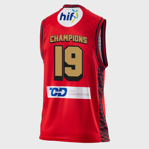 Perth Wildcats 18/19 Championship Jersey