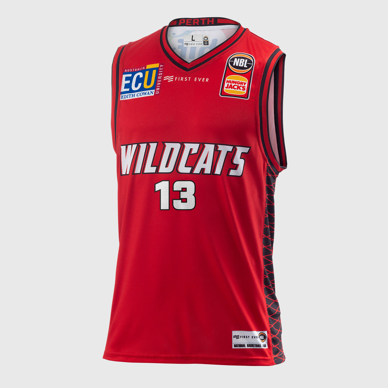 Perth Wildcats 18/19 Authentic Jersey - Tom Jervis