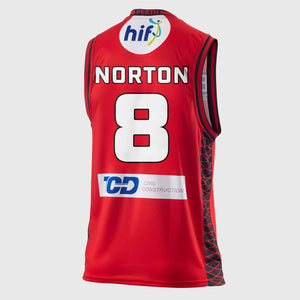 Perth Wildcats 18/19 Authentic Jersey - Mitch Norton