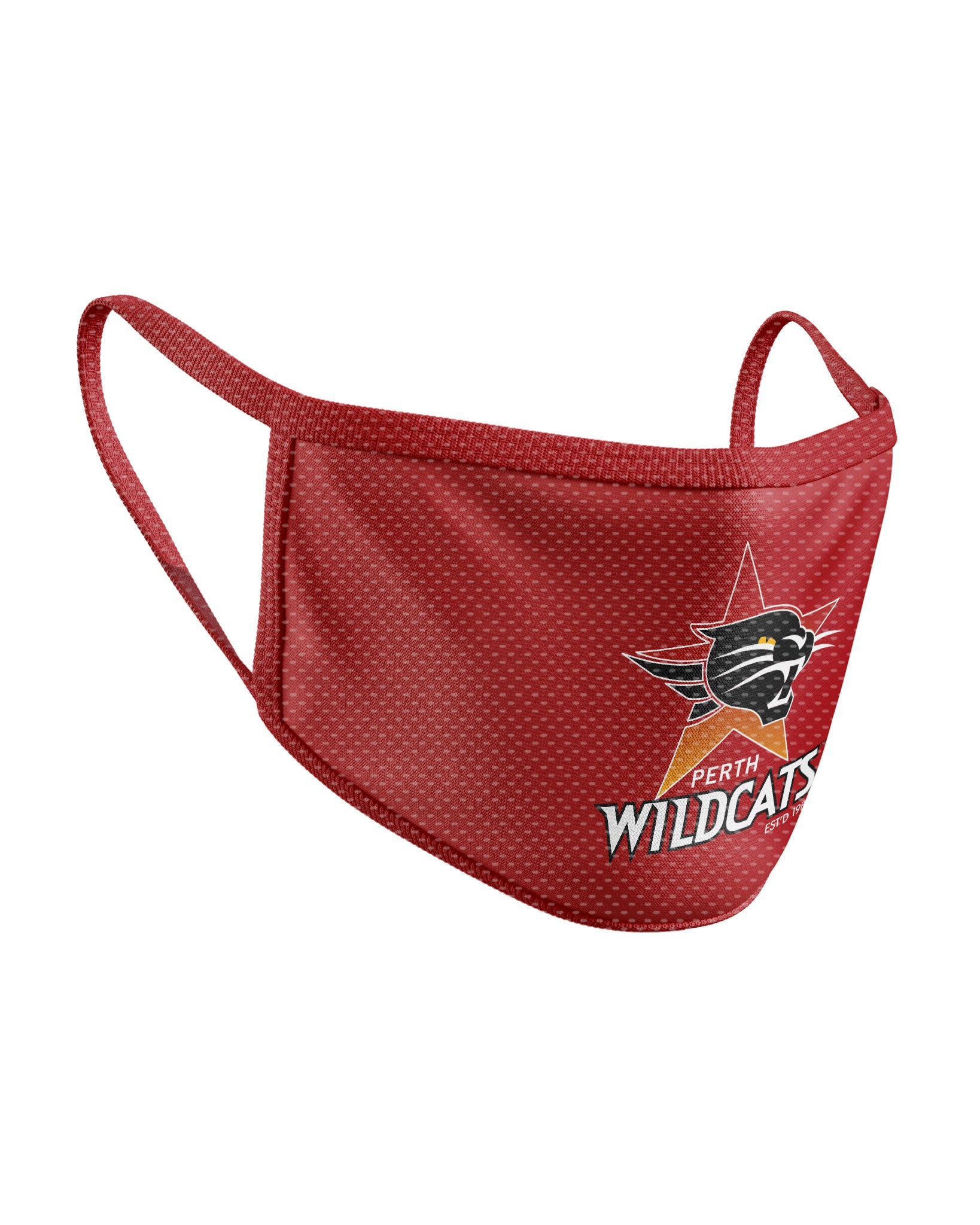 Perth Wildcats Face Mask