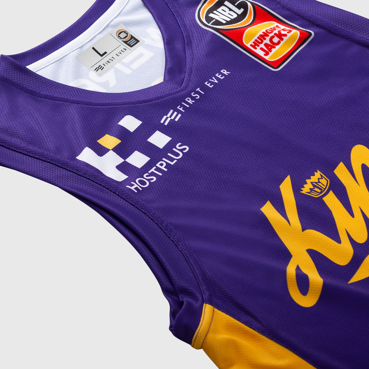 Sydney Kings 18/19 Authentic Jersey - Kevin Lisch