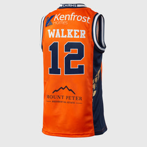 Cairns Taipans 18/19 Youth Authentic Jersey - Lucas Walker