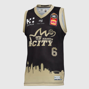 Sydney Kings 18/19 Youth Authentic City Jersey - Andrew Bogut