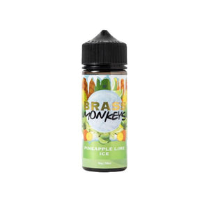 Brass Monkeys 0mg 100ml Shortfill (70VG/30PG) - CBD VAPE 1
