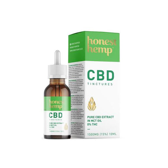 Honest Hemp 1500mg 10ml Pure CBD Extract in MCT Oil - CBD VAPE 1