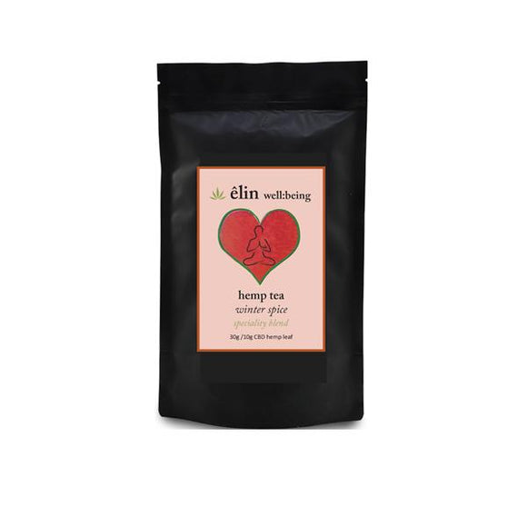 Êlin Well:being 10mg CBD Hemp Tea 30g - Winter Spice
